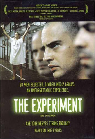 L'expérience (Das Experiment) DVD Movie