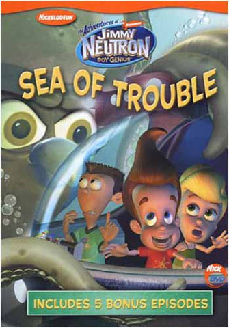 Les aventures de Jimmy Neutron - Sea of ​​Trouble DVD Movie