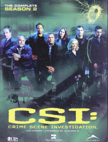 CSI - The Complete Second (2) Season (Bilingual) (Boxset) DVD Movie