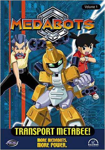 Medabots - Transport Metabee! - Volume 1 DVD Movie