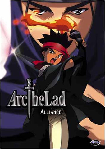 Arc The Lad - Alliance! (Japanimation) DVD Movie