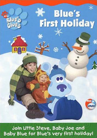 Blue's Clues - Le premier film DVD de Blue's Holiday