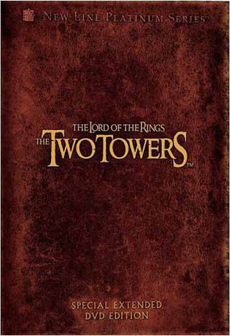 The Lord of the Rings - The Two Towers (Platinum Series Special Extended Edition) (Boxset) DVD Movie