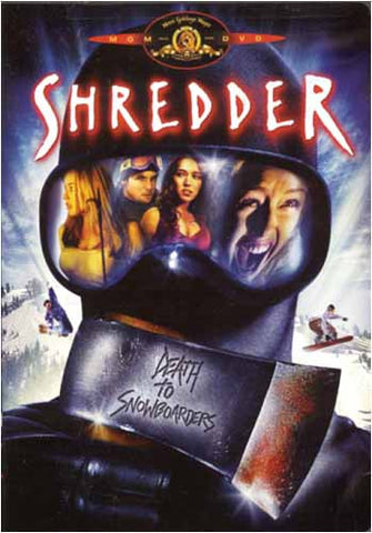 Shredder DVD Movie