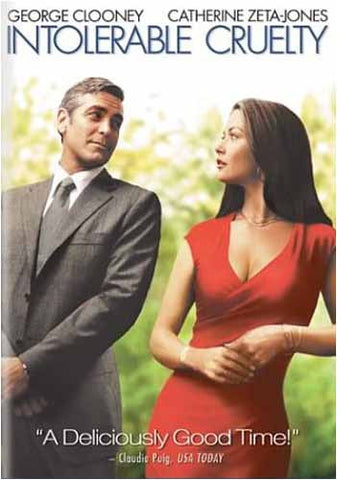 Intolerable Cruelty (Full Screen Edition) DVD Movie