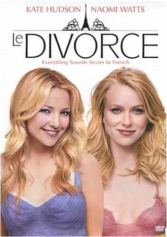 Le Divorce DVD Film