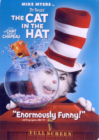 Dr. SeussThe Cat In The Hat (Mike Myers) (Full Screen Edition) (Bilingual) DVD Movie