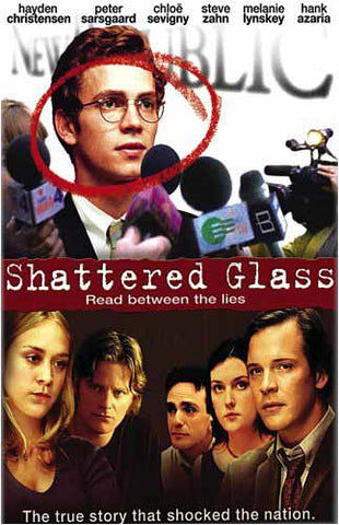 Shattered Glass DVD Movie
