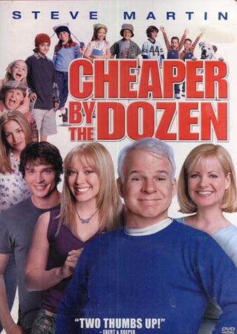 Cheaper by the Dozen DVD Movie