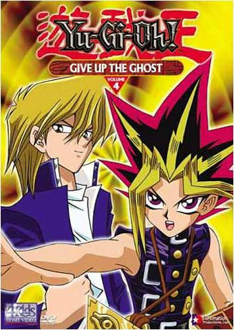 Yu-Gi-Oh! - Give Up the Ghost - Vol. 4 DVD Movie