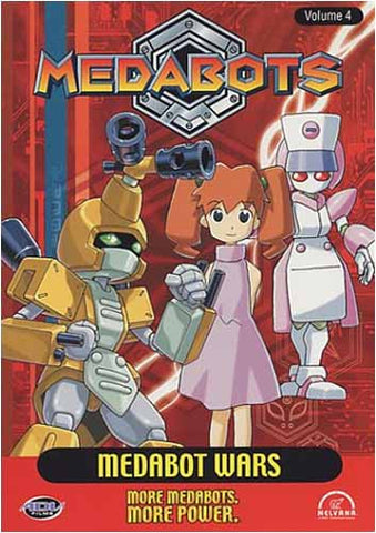 Medabots - Volume 4: Film DVD Medabot Wars (Japanimation)