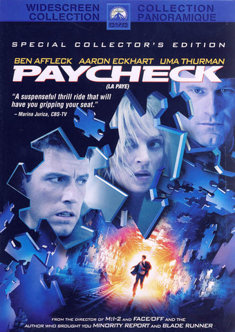 Paycheck - Special Collector s (Widescreen Edition) (Bilingual) DVD Movie