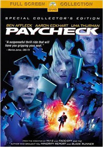 Paycheck - Special Collector s (Fullscreen Edition) DVD Movie