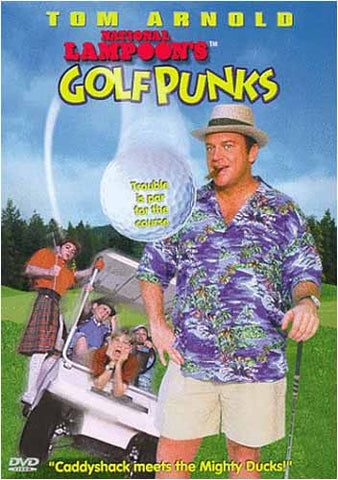 Film DVD de National Lampoon's Golf Punks (Tom Arnold)