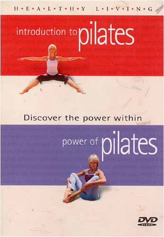 Healthy Living - Introduction To Pilates / Power of Pilates DVD Movie