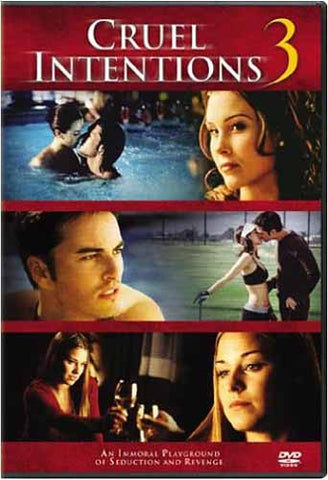 Film 3 DVD de Cruel Intentions
