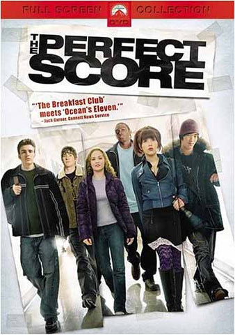 The Perfect Score (Full Screen) DVD Movie