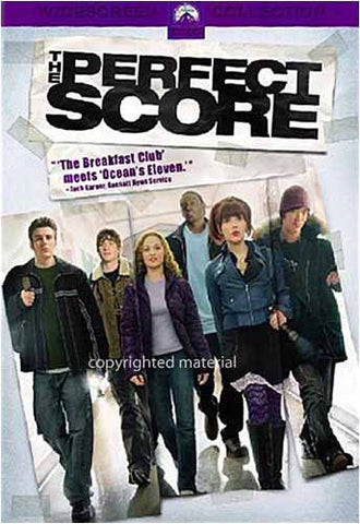 The Perfect Score (Widescreen) DVD Movie