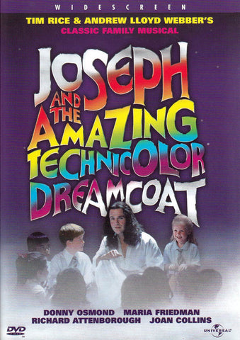 Joseph and the Amazing Technicolor Dreamcoat DVD Movie