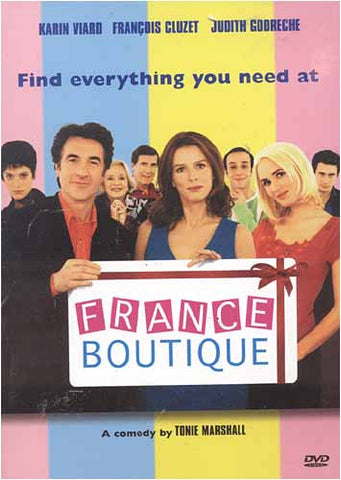 France Boutique DVD Movie