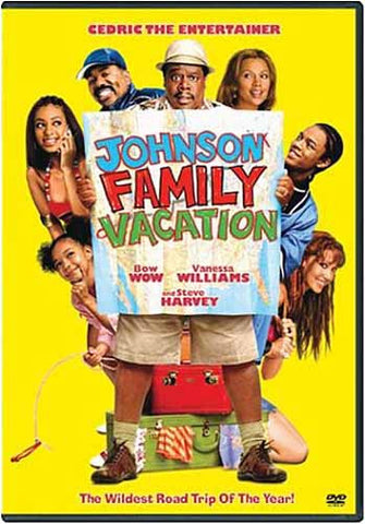 Johnson Family Vacation (Yellow Cover) DVD Movie
