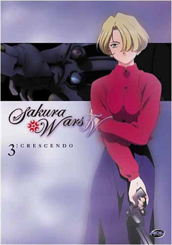 Sakura Wars TV - Volume 3 - Crescendo (Japanimation) DVD Movie