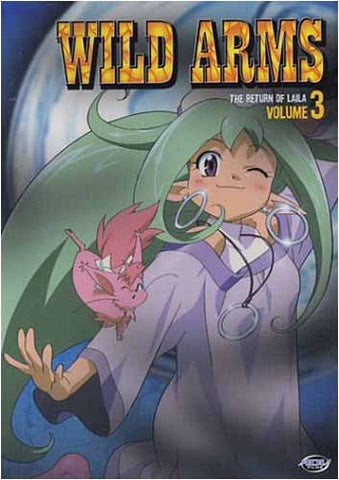 Wild Arms - Volume 3: Le retour de Laila (Japanimation) DVD Movie