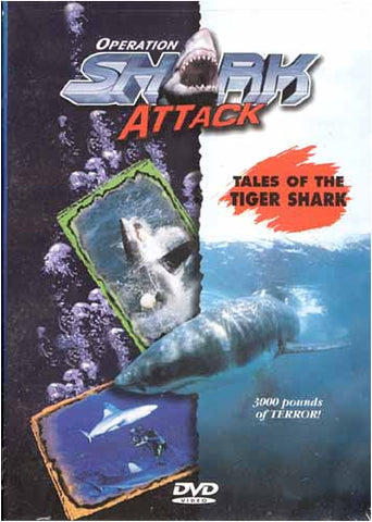 Operation Shark Attack - Tales Of The Tiger Shark Film DVD