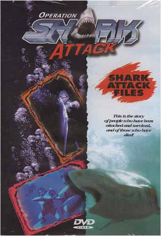 Operation Shark Attack - DVD de fichiers d'attaque de Shark