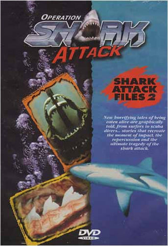 Operation Shark Attack - Fichiers d'attaque de Shark Film 2 DVD