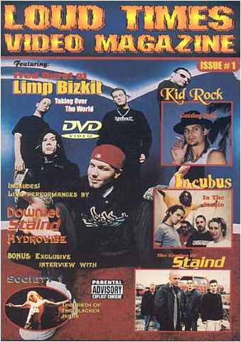 Loud Times Video Magazine - Émettre un film DVD 1