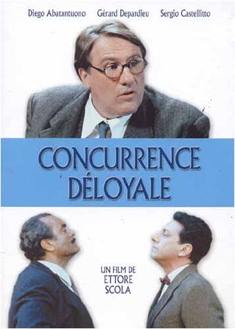 Concurrence Deloyale DVD Movie