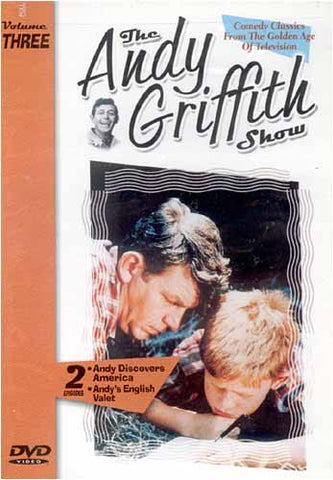The Andy Griffith Show - Andy découvre l'Amérique - Le valet anglais d'Andy - Volume Three DVD Movie