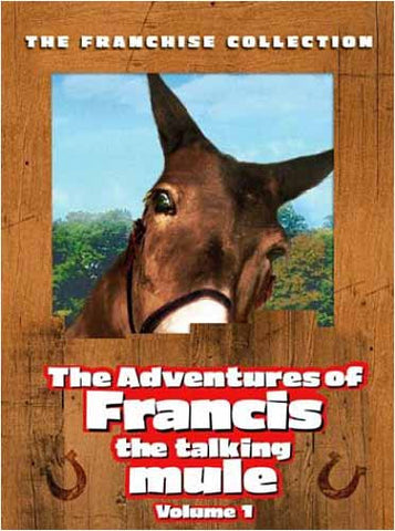 Adventures of Francis The Talking Mule - Volume 1 DVD Movie