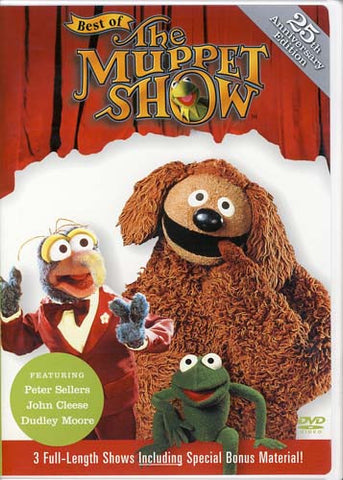 Best of the Muppet Show - Peter Sellers/John Cleese/Dudley Moore DVD Movie