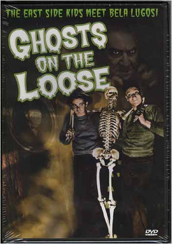 Ghosts on the Loose DVD Movie