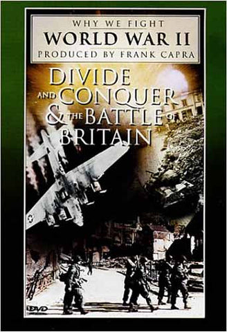 Divide and Conquer / The Battle of Britain (Why We Fight World War II) Film DVD