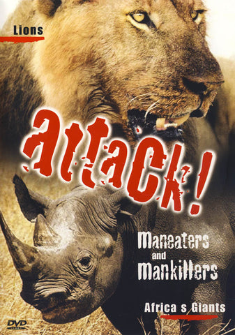 Attack! Maneaters and Mankillers / Maneaters DVD Movie