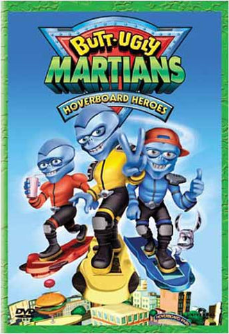 Butt-Ugly Martians - Film DVD Hoverboard Heroes