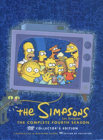 Les Simpsons / Les Simpson - The Complete Fourth Season (Collector s Edition) (Boxset) DVD Movie