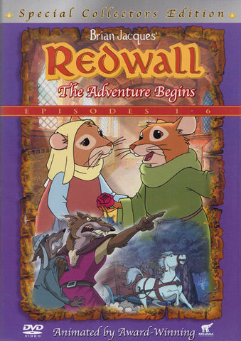 Redwall - The Adventure Begins - Episodes 1 à 6 (Special Collector's Edition) DVD Movie