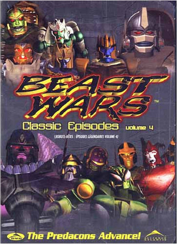 Beast Wars - Classic Episodes Vol.4 (Bilingual) DVD Movie