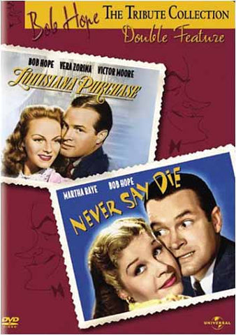 Bob Hope Tribute Collection - Louisiana Purchase / Never Say Die (Double Feature) DVD Movie