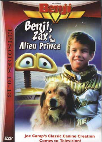 Benji, Zax and the Alien Prince (Episode 10-13) DVD Movie