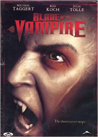 Blade of the Vampire DVD Movie
