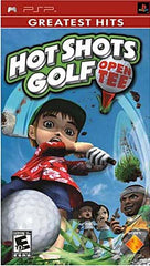 Hot Shots Golf - Open Tee (Bilingual Cover) (PSP)
