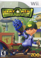 Army Men - Soldiers of Misfortune (Bilingual Cover) (NINTENDO WII)