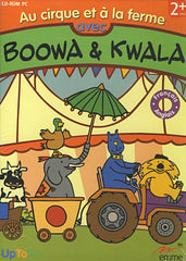 Au Cirque Et A La Ferme Avec Boowa Et Kwala (French Version Only) (PC)