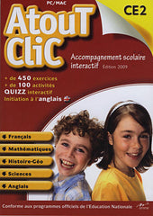 Atout Clic CE2 2009 (French Version Only) (PC)