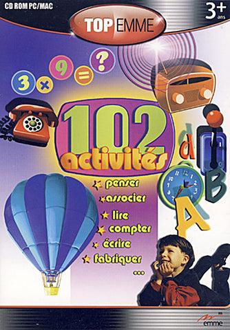 102 Activites (French Version Only) (PC) PC Game